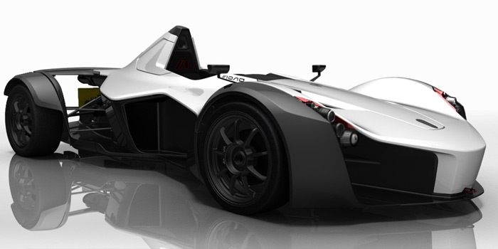 BAC Was Keen To Exploit The One Seat Layout On Monos Design Car Is Similar An Open Wheel Single Racecar With A Carbon Fiber Reinforced