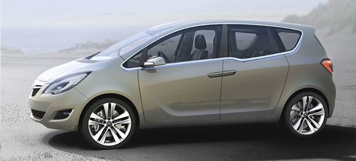 Opel meriva now with flexdoor automotive news robotpig new opel mpv will have all the flexible interior arrangements that customers expect from a car of its kind and will use mechanical underprintings and sciox Image collections