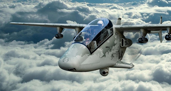 AHRLAC - African light attack aircraft