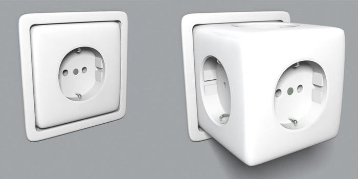 Superb The Retractable Power Socket Shouldnu0027t Be Very Expensive If Mass Produced  (it Should Cost Similar To A Wired Multi Plug Extension) And While It Can  Be ...